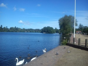 The mere at Ellesmere
