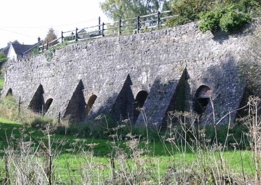 Lime Kilns in Pant, Shropshire