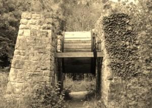 Winding Wheel, Llanymynech Rocks