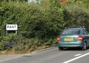 Road through Pant
