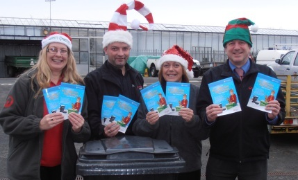 Christmas waste collections in Pant