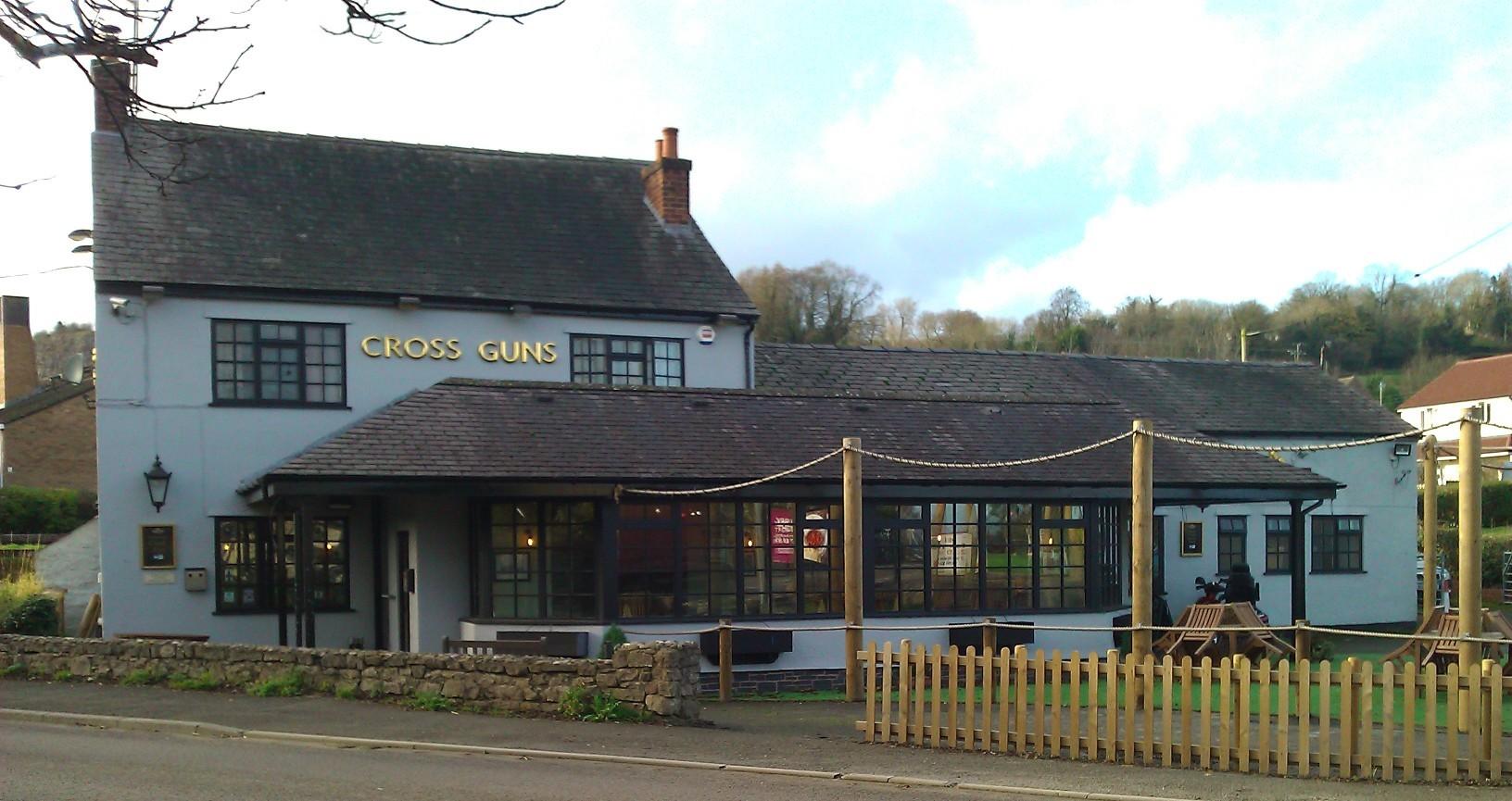 Cross Guns Inn, Pant, Shropshire