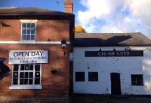 Cross Keys in Kinnerley, Shropshire