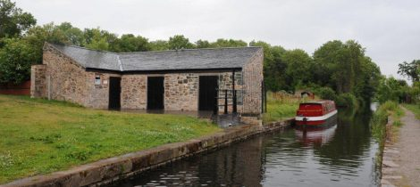 Llanymynech Wharf on the Montgomery Canal