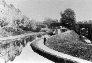 Pant railway bridge and Montgomery Canal