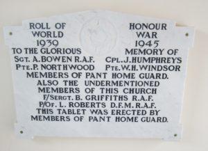 Pant War Memorial