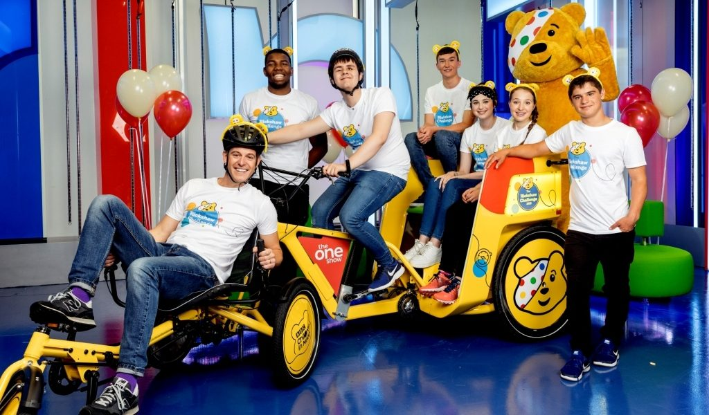 BBC Children in Need & The One Show's Rickshaw Challenge to come through Pant