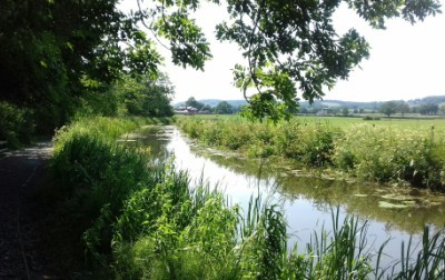 The Montgomery Canal north of Pant in Shropshire