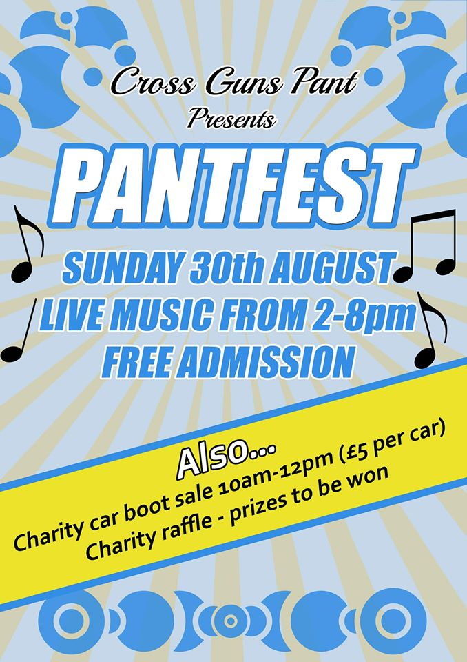 This is a poster for Pantfest