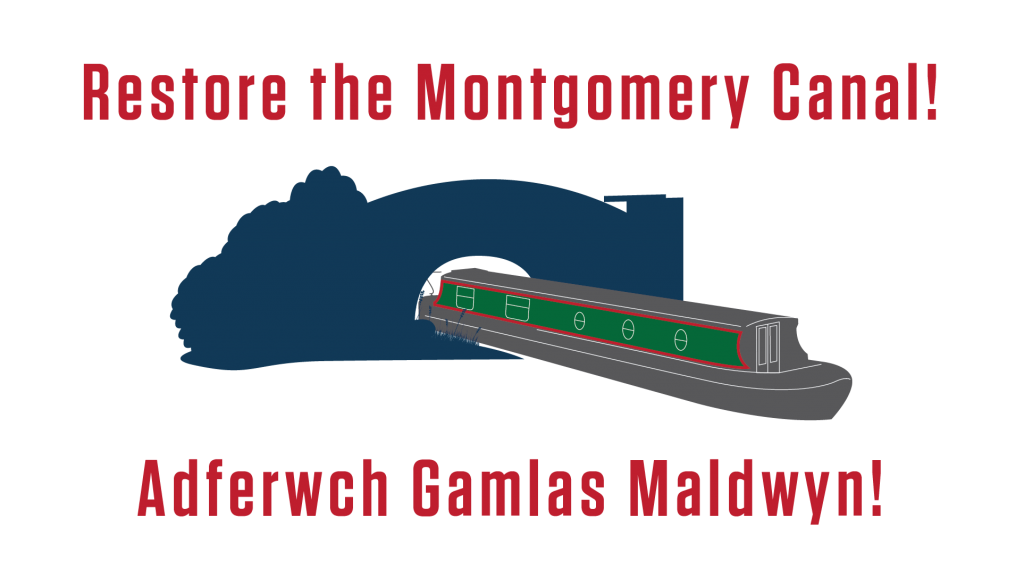 Restore the Montgomery Canal appeal logo