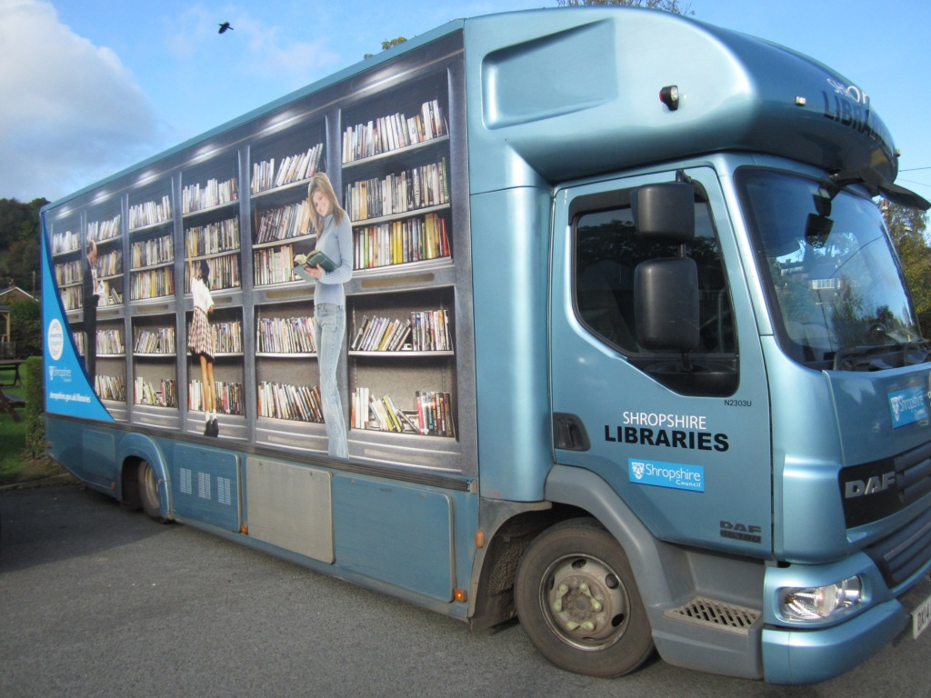 Shropshire Libraries comes to Pant