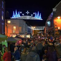 Oswestry Christmas Light Switch On
